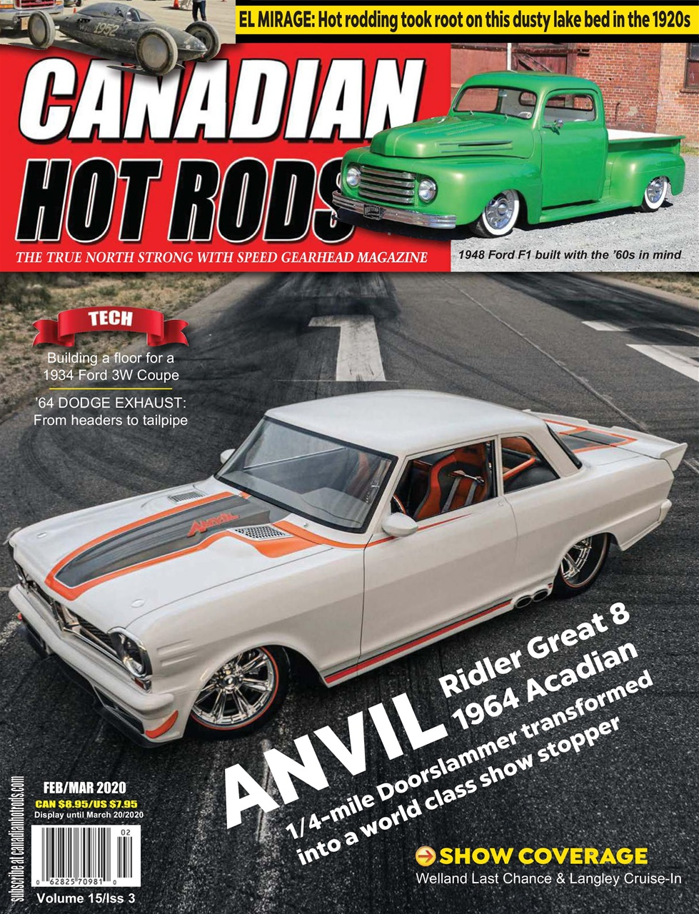 Canadian Hot Rods Magazine - Feb/March 2020